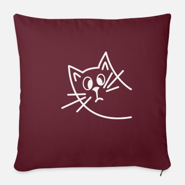 Catty Hello Catty - Pillowcase 17,3'' x 17,3'' (45 x 45 cm)