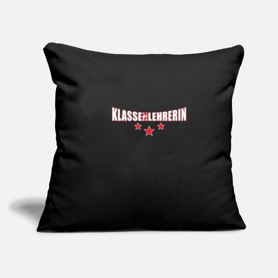 Best In Class Pillow Cases - Class teacher class teacher graduation gift - Pillowcase 17,3'' x 17,3'' (45 x 45 cm) black