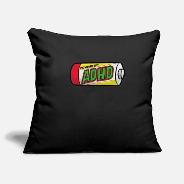 Deficit ADHD ADS ADHD Attention Deficit Hyperactive - Pillowcase 17,3'' x 17,3'' (45 x 45 cm)