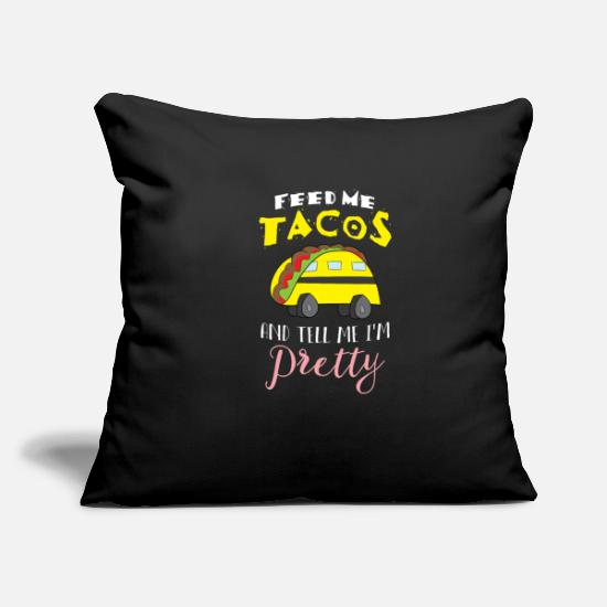 School Pillow Cases - School Bus Driver's Best Driver Gift Taco - Pillowcase 17,3'' x 17,3'' (45 x 45 cm) black