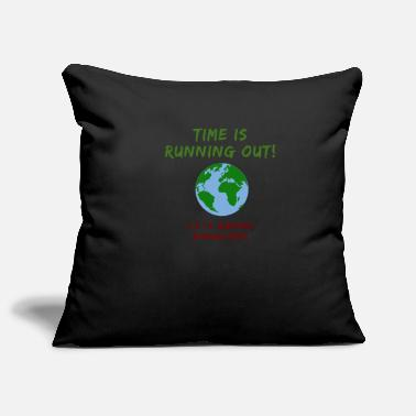 Green Planet Climate Change Time Climate Protection Earth - Pillowcase 17,3'' x 17,3'' (45 x 45 cm)