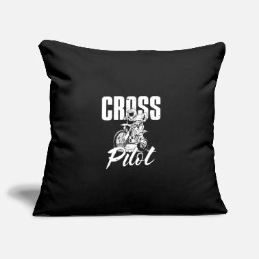 Superbike Motocross Enduro Sport Gift · Cross Pilot - Pillowcase 17,3'' x 17,3'' (45 x 45 cm)