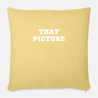 Picture the picture - Pillowcase 17,3'' x 17,3'' (45 x 45 cm)