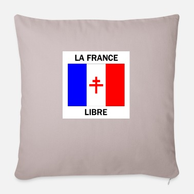 Free France - Pillowcase 17,3'' x 17,3'' (45 x 45 cm)