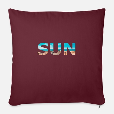 Sun Sun sun - Pillowcase 17,3'' x 17,3'' (45 x 45 cm)