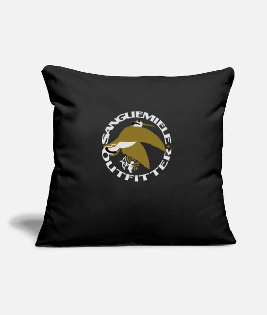 Stag Pillow Cases - sem_outfitter_woodcock_on_dark - Pillowcase 17,3'' x 17,3'' (45 x 45 cm) black