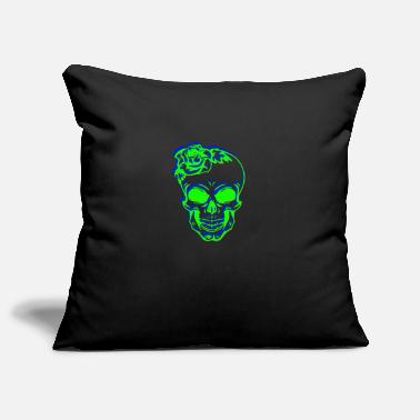 Skull Shirt Skull Skull - Pillowcase 17,3'' x 17,3'' (45 x 45 cm)