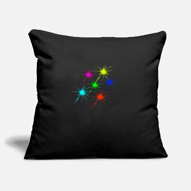 color blob colorful techno rave - Pillowcase 17,3'' x 17,3'' (45 x 45 cm)