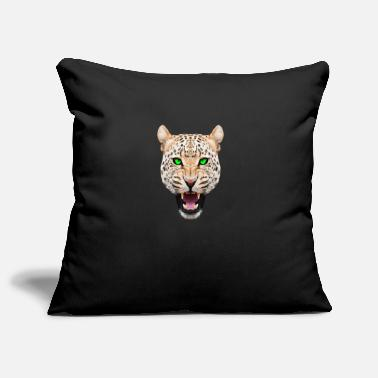 Leopard head - Pillowcase 17,3'' x 17,3'' (45 x 45 cm)