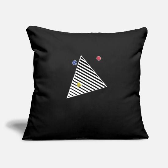 Contrast Pillow Cases - Pyramid Portal Contrast Hoodie - Pillowcase 17,3'' x 17,3'' (45 x 45 cm) black