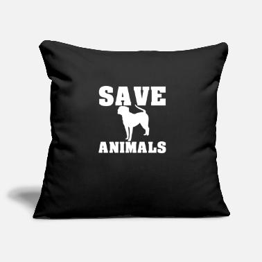 Animal Rescue Save the animals animal rescue dogs - Pillowcase 17,3'' x 17,3'' (45 x 45 cm)