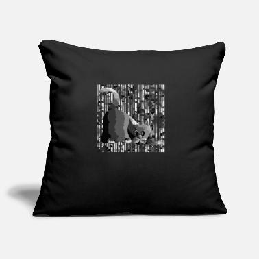 Tiere Cat - Pillowcase 17,3'' x 17,3'' (45 x 45 cm)