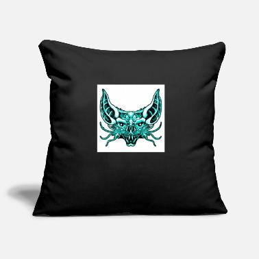 Artfetish bat head vector pop art - Pillowcase 17,3'' x 17,3'' (45 x 45 cm)