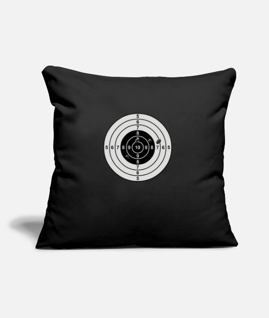 Kill Strike Sniper Target Pillow Cases - target - Pillowcase 17,3'' x 17,3'' (45 x 45 cm) black