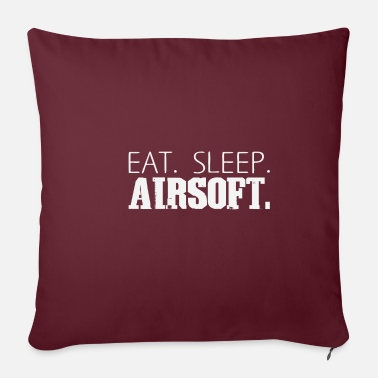 Marcare Eat Sleep Airsoft Softair Paintball Gift - Copricuscino