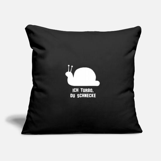 Fast Pillow Cases - crawl - Pillowcase 17,3'' x 17,3'' (45 x 45 cm) black