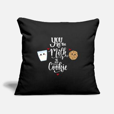 biscuits milk pair sweet love gift - Pillowcase 17,3'' x 17,3'' (45 x 45 cm)