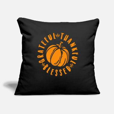Companion Thanks Giving T-Shirt Harvest Farmer Blessing Thanks Celebration - Pillowcase 17,3'' x 17,3'' (45 x 45 cm)