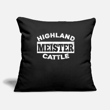 Highland Highland Cattle Highlander Rind - Kissenhülle