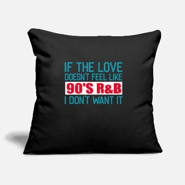 R&b R & B music - Pillowcase 17,3'' x 17,3'' (45 x 45 cm)