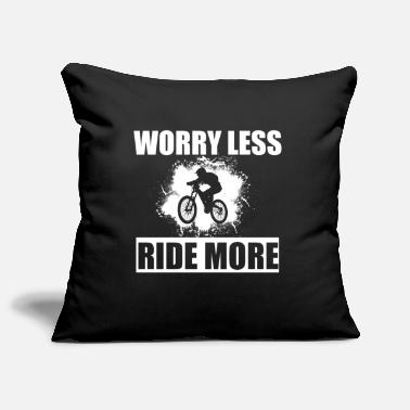 Blood Mountain bike gift I bike mountain bike MTB - Pillowcase 17,3'' x 17,3'' (45 x 45 cm)