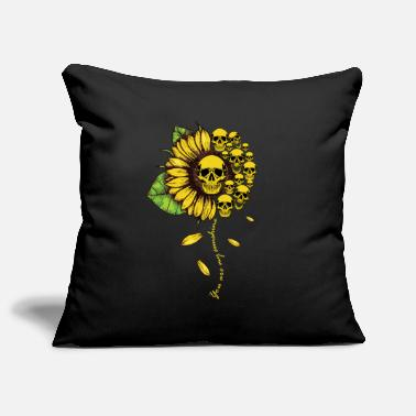Funny Unicorn You Are My Sunshine Sunflower Skulls Lady Funny - Pillowcase 17,3'' x 17,3'' (45 x 45 cm)