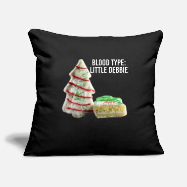 Pregnancy Blood Type Little Debbie Chocolate Cupcakes Funny - Pillowcase 17,3'' x 17,3'' (45 x 45 cm)