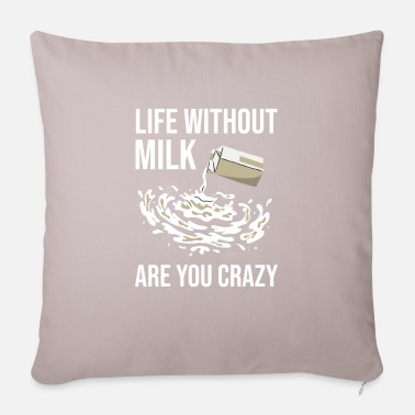 Milk Milk raw milk whole milk - Pillowcase 17,3'' x 17,3'' (45 x 45 cm)
