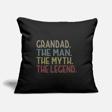 Grandad Grandad The Man The Legend The Legend T Shirt - Pillowcase 17,3'' x 17,3'' (45 x 45 cm)