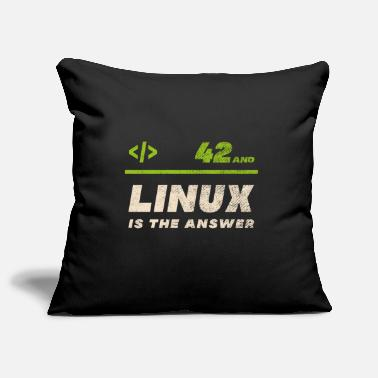 Linux Linux - 42 and Linux is the Answer - Pillowcase 17,3'' x 17,3'' (45 x 45 cm)