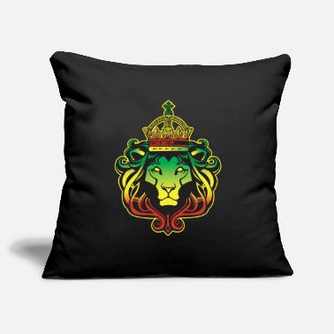 Rasta Rastafarian Rasta Lion - Pillowcase 17,3'' x 17,3'' (45 x 45 cm)