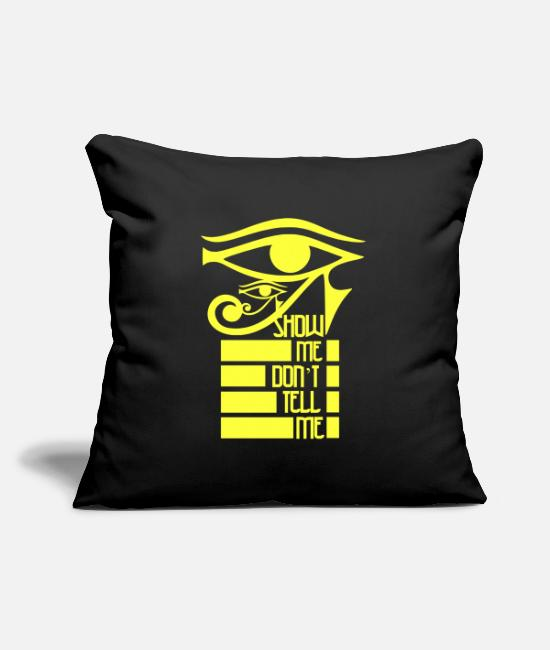 Quote Pillow Cases - Sarcastic sayings - Pillowcase 17,3'' x 17,3'' (45 x 45 cm) black