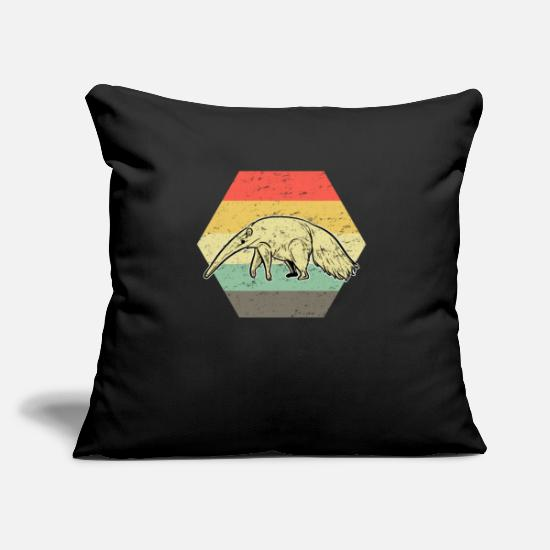 Anteater Pillow Cases - ant-eater - Pillowcase 17,3'' x 17,3'' (45 x 45 cm) black