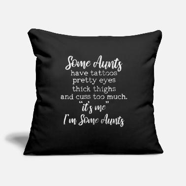 Aunt Aunt Aunt Aunt - Pillowcase 17,3'' x 17,3'' (45 x 45 cm)