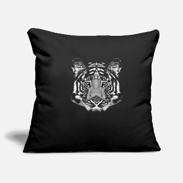 Picture Tiger picture in picture - Pillowcase 17,3'' x 17,3'' (45 x 45 cm)