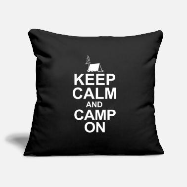 To Camp camp camping - Pillowcase 17,3'' x 17,3'' (45 x 45 cm)