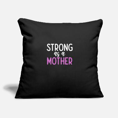 Fan Strong As A Mother Powerful Mom Mother's Day - Kissenhülle