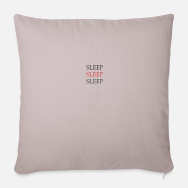 Sleeping Sleep Sleep Sleep - Pillowcase 17,3'' x 17,3'' (45 x 45 cm)