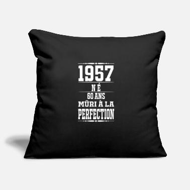 1957-60 years perfection - 2017 - FR - Pillowcase 17,3'' x 17,3'' (45 x 45 cm)