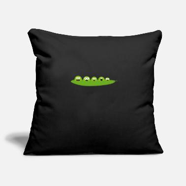 Pod Peas in a pod - Pillowcase 17,3'' x 17,3'' (45 x 45 cm)