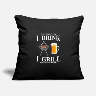 Born To Grill thats what i do i drink i grill - Kissenhülle