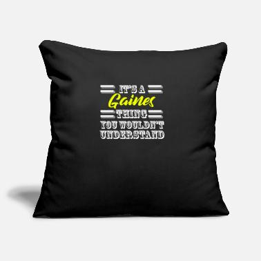 Pride Its A Gaines Thing Last Name Surname Pride - Pillowcase 17,3'' x 17,3'' (45 x 45 cm)