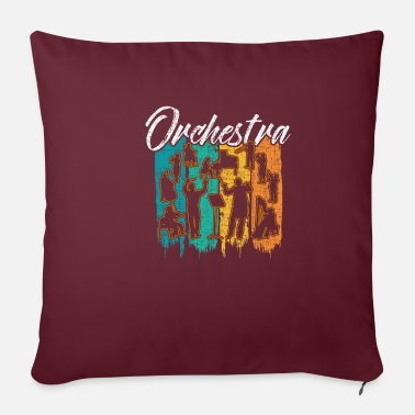 Orchestra orchestra - Pillowcase 17,3'' x 17,3'' (45 x 45 cm)