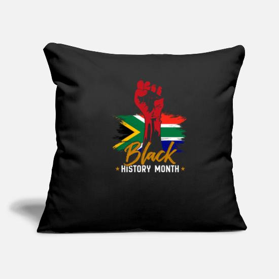 Black History Pillow Cases - Black History Month - Pillowcase 17,3'' x 17,3'' (45 x 45 cm) black