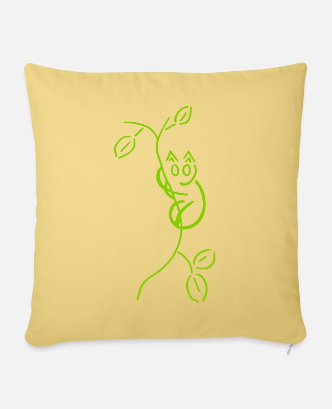AST Pillow Cases - mythical creatures - Pillowcase 17,3'' x 17,3'' (45 x 45 cm) washed yellow