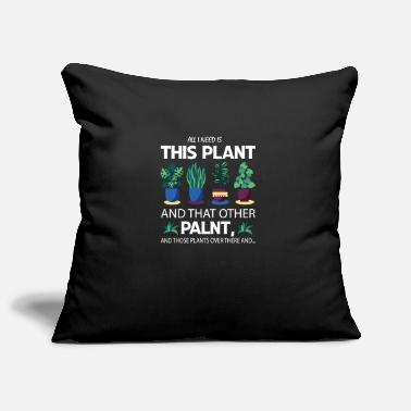 Tulip I need this plant, oh and these, oh and ... - Pillowcase 17,3'' x 17,3'' (45 x 45 cm)