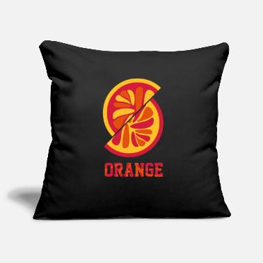 Orange Orange orange - Pillowcase 17,3'' x 17,3'' (45 x 45 cm)