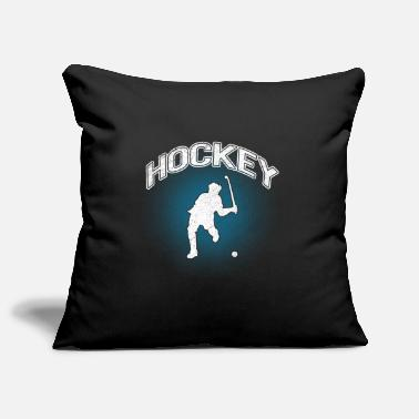 Hockey Stick Hockey hockey player gift - Pillowcase 17,3'' x 17,3'' (45 x 45 cm)