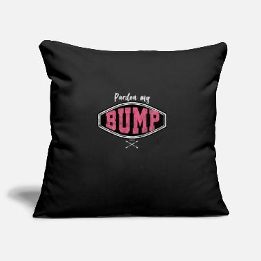 Pardon Pardon My Bump Train Shirt - Pillowcase 17,3'' x 17,3'' (45 x 45 cm)