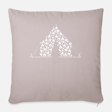 Tent Tent made of tents - Pillowcase 17,3'' x 17,3'' (45 x 45 cm)